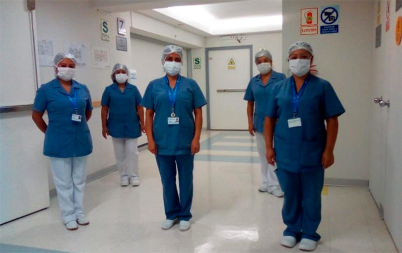 Enfermeras de UCI